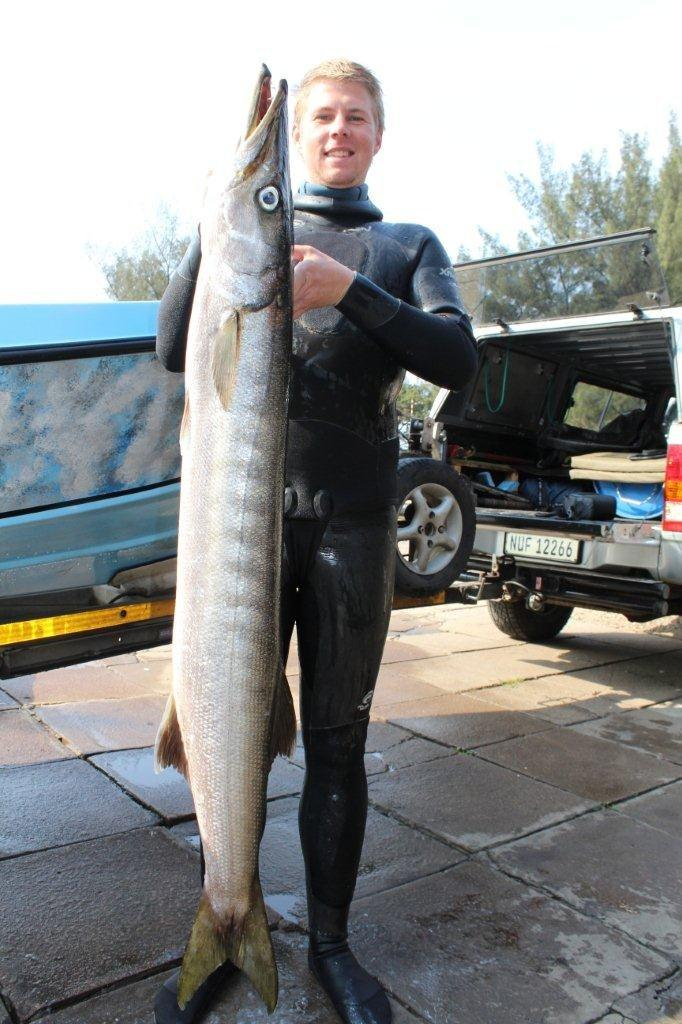 Spearfishing photo gallery for Sa fishing 5 for 15