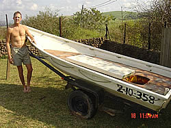 Clive Hockley boat giveaway